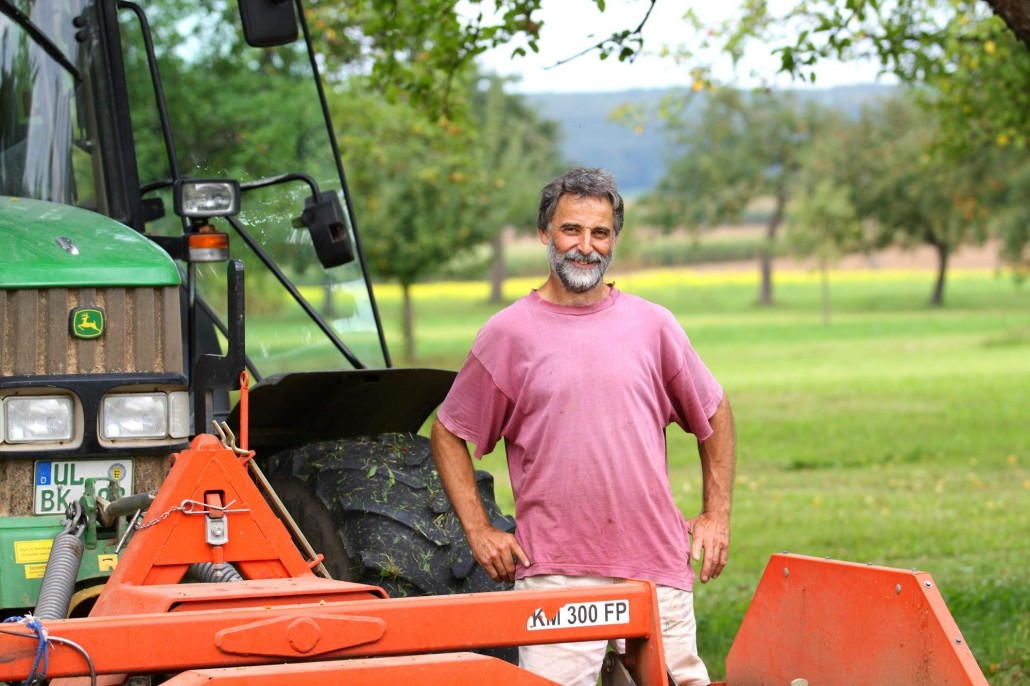 KORNKREIS Landwirt Wolfgang Siehler