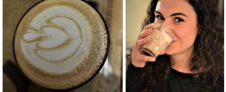 Flat White mit Lupinenkaffee